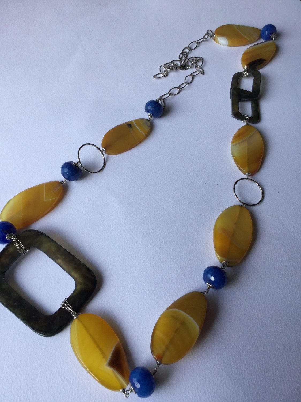 1970 terrific vintage necklace Twiggy style - 1970 Incredibile collana vintage Twiggy styled di Quieora su Etsy
