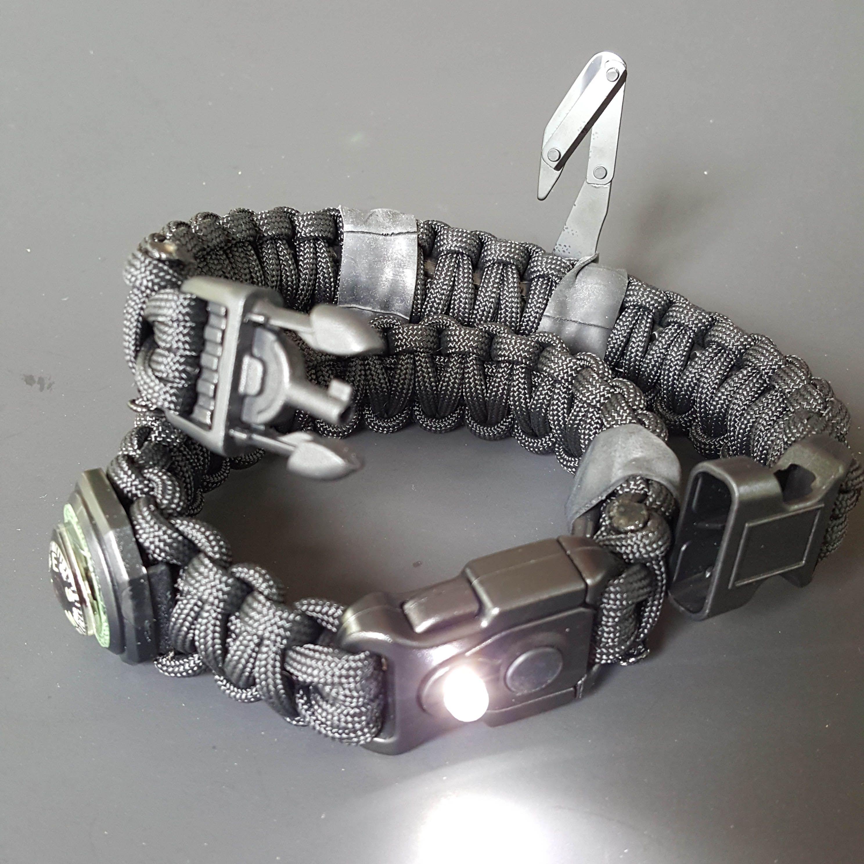 Aegis Gears Model X Paracord Survival Bracelet Paracord
