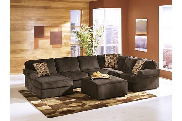 Chocolate Vista 3-Piece Sectional View 3 | Furniture, Living ...