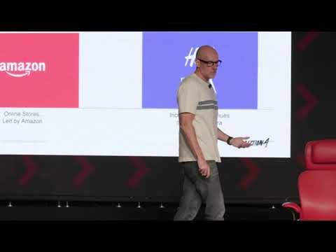 Scott Galloway Pivot Co Host And Professor Of Marketing At Nyu Stern Code Commerce 2019 Youtube Business Entrepreneur Professor Marketing