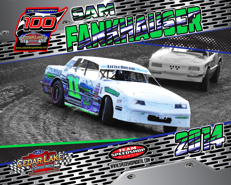 11 - Sam Fankhauser #wissota #dirt #track #racing #car ...