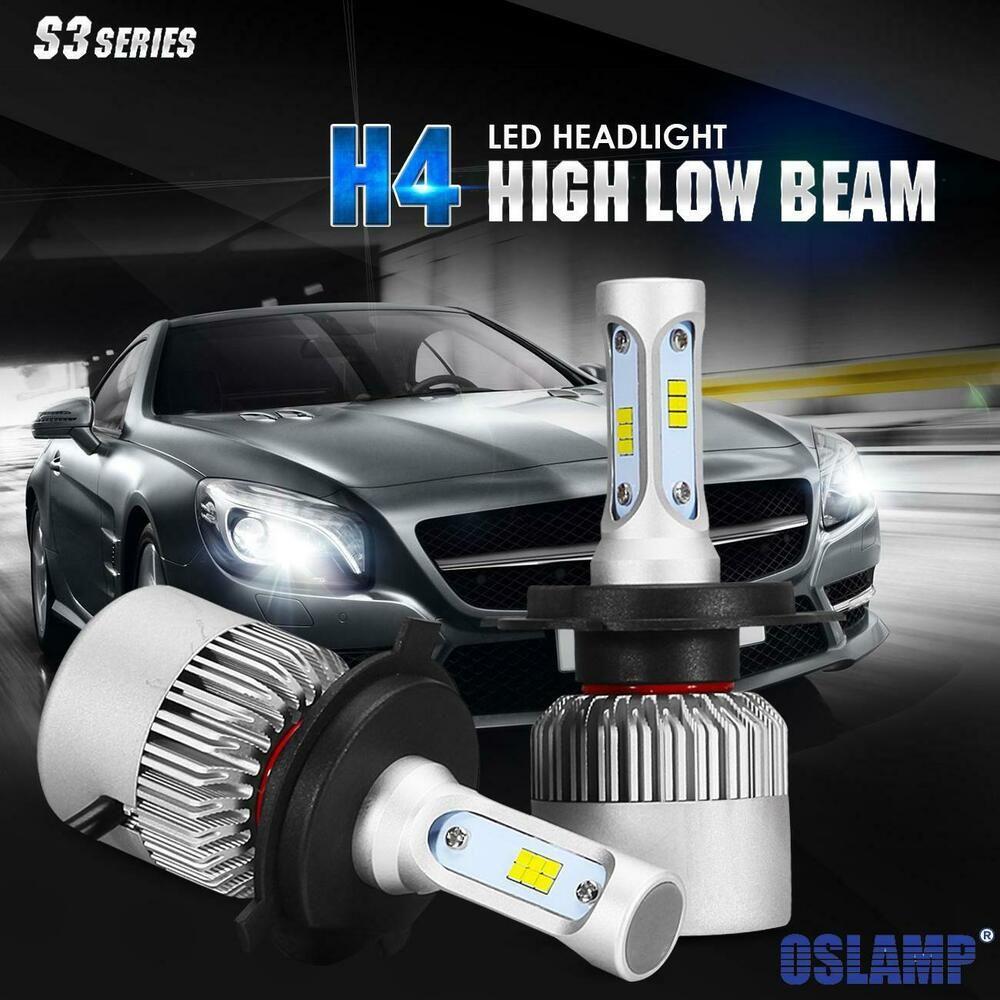Ebay Sponsored 2x Cree H4 9003 6000k Led Headlight Kit 1080w 162000lm Hi Lo Beam Bulb Light Led Headlights Lamp Bulb Cree Led