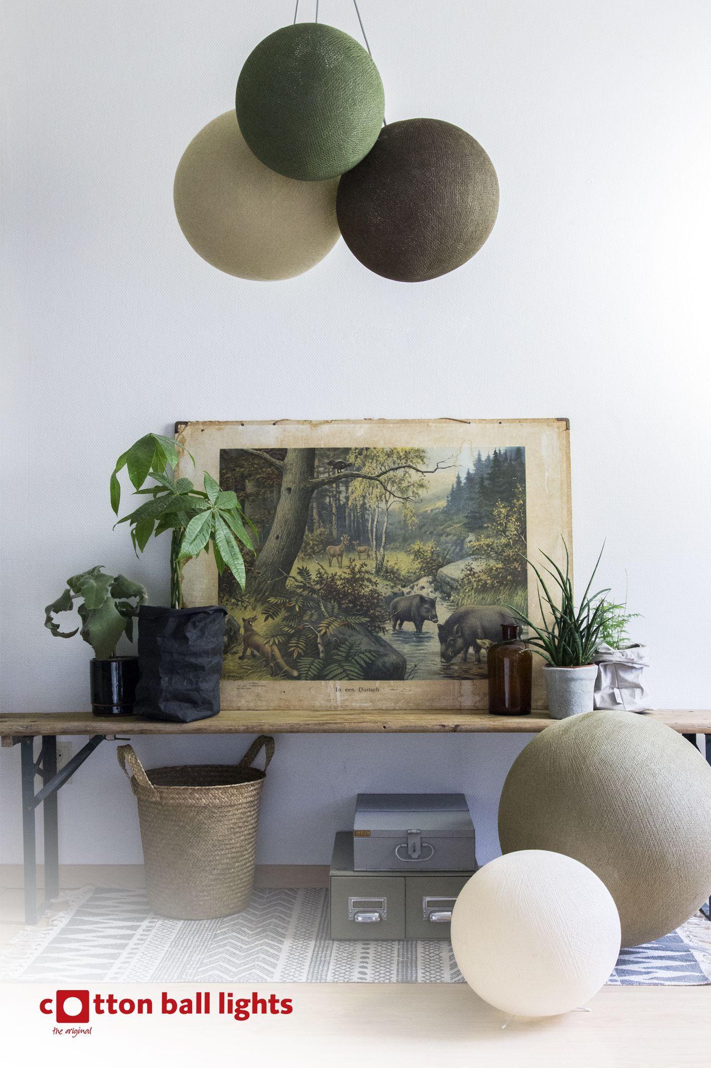 Woonkamer decoratie - Laat je inspireren door Cotton Ball Lights ...