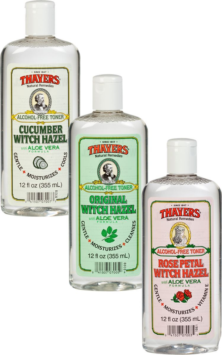 Thayers Witch Hazel Alcohol Free With Hazel Thayers