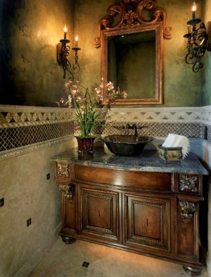 Ornate Bathroom Vanity