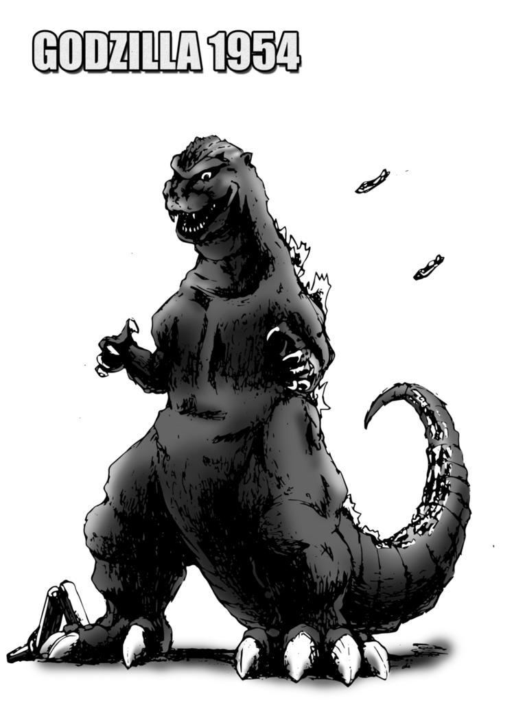 Godzilla 1954 For Movie Man Finished By Kaijugroupie84 Godzilla Kaiju Art Godzilla Vs