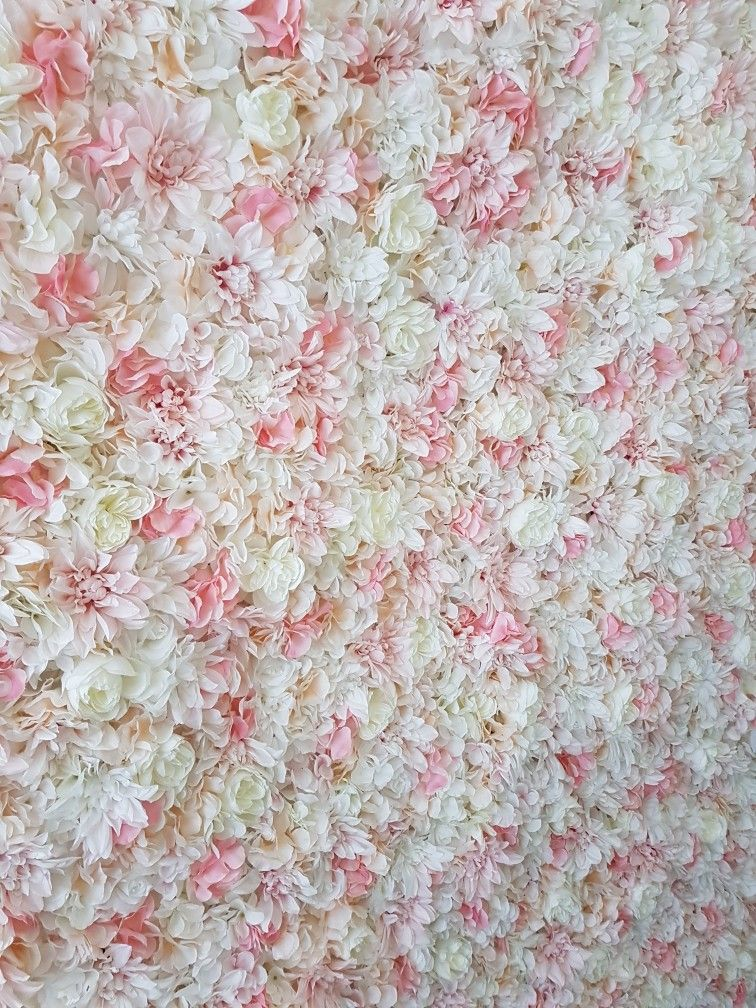 Fairy blush silk flower wall lush pink ivory white peach flowers fairy blush silk flower wall lush pink ivory white peach flowers mightylinksfo