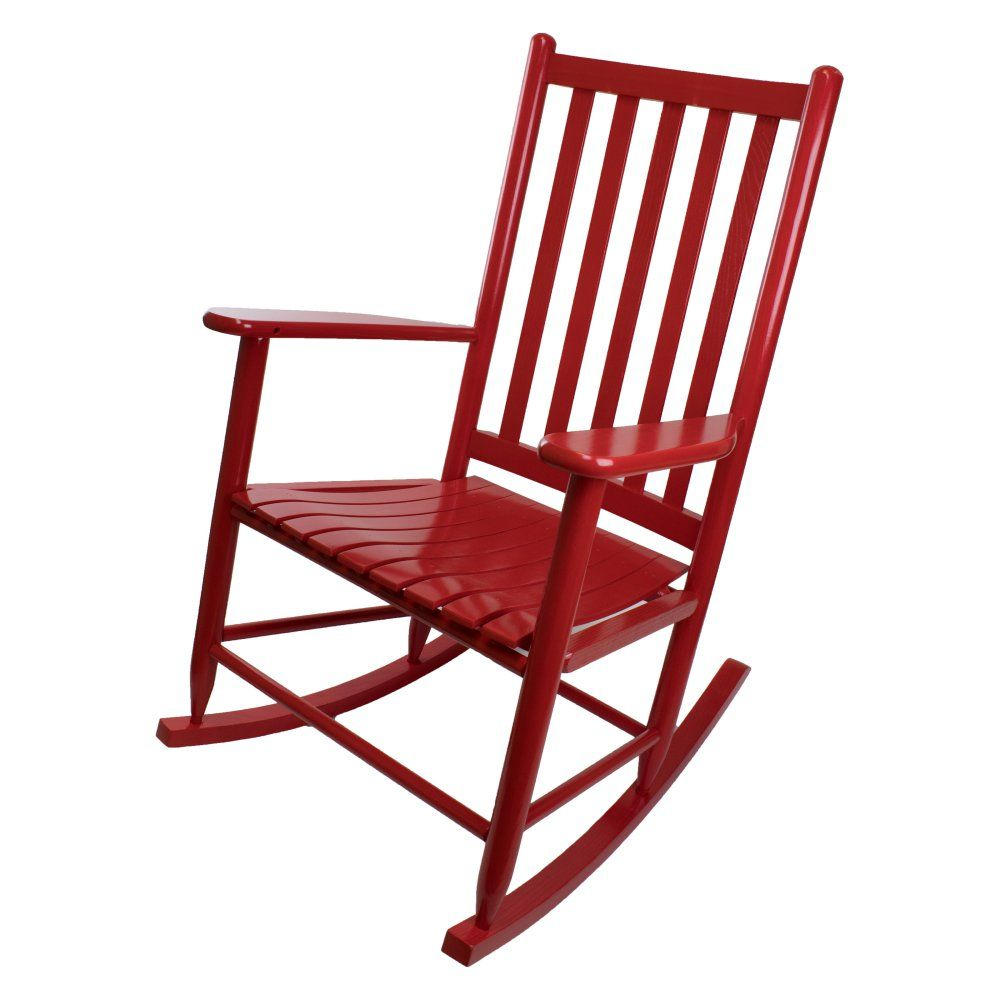 Dixie Seating Co Asheville 40 In Outdoor Rocking Chair Rocking Chair White Wooden Rocking Chair Outdoor Rocking Chairs