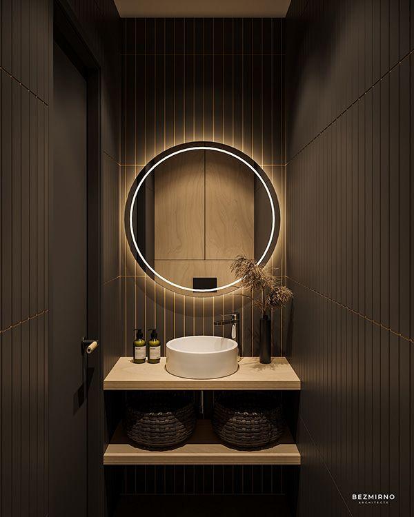 Autodesk Room Design: 현대 인테리어 디자인, 욕실 디자인, 욕실