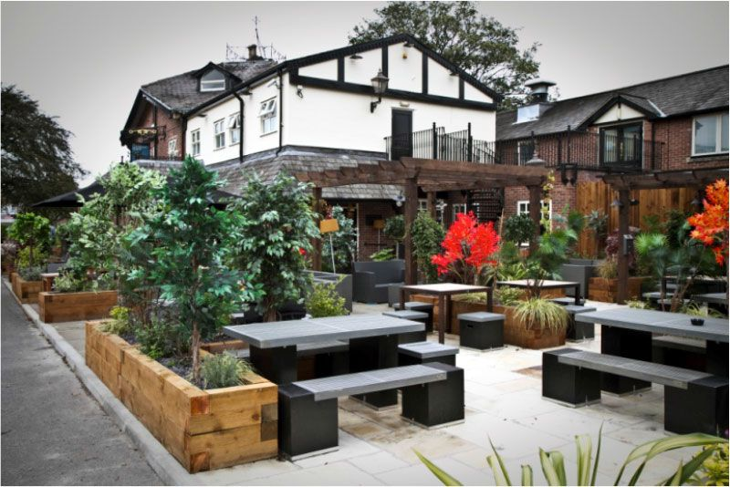 The Governors House Cheadle Outdoor Decor