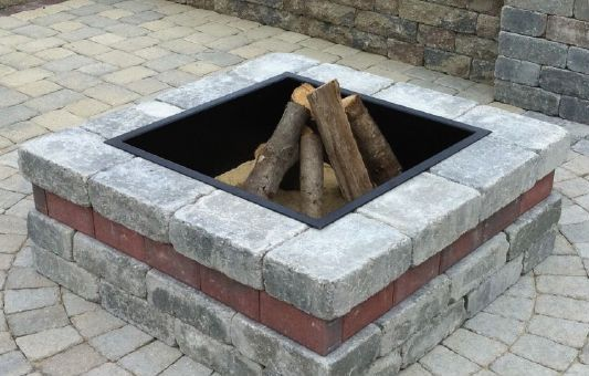 Outdoor Living Harken S Landscape Supply Garden Center East Windsor Ct Square Fire Pit Backyard Fire Outdoor Fire Pit