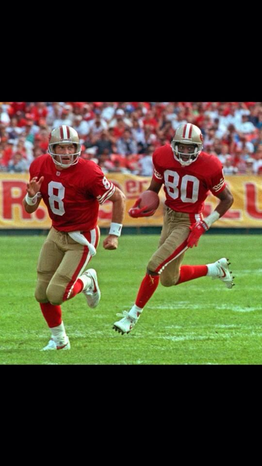 Steve Young Jerry Rice