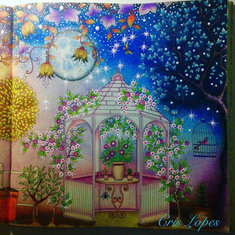 secret garden Secret garden coloring book, Enchanted
