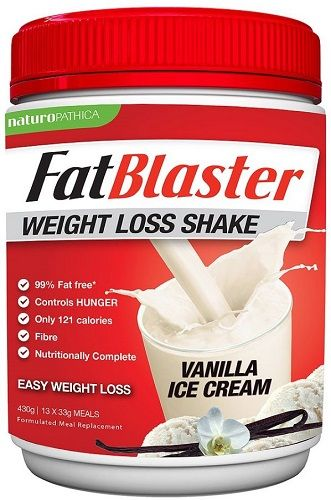 Fatblaster Weight Loss Shake Vanilla 430g Best Protein For Women