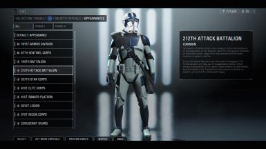 Mod 501st Clones Only At Star Wars Battlefront Ii 2017 Nexus Mods And Community Star Wars Games Clone Trooper Battlefront