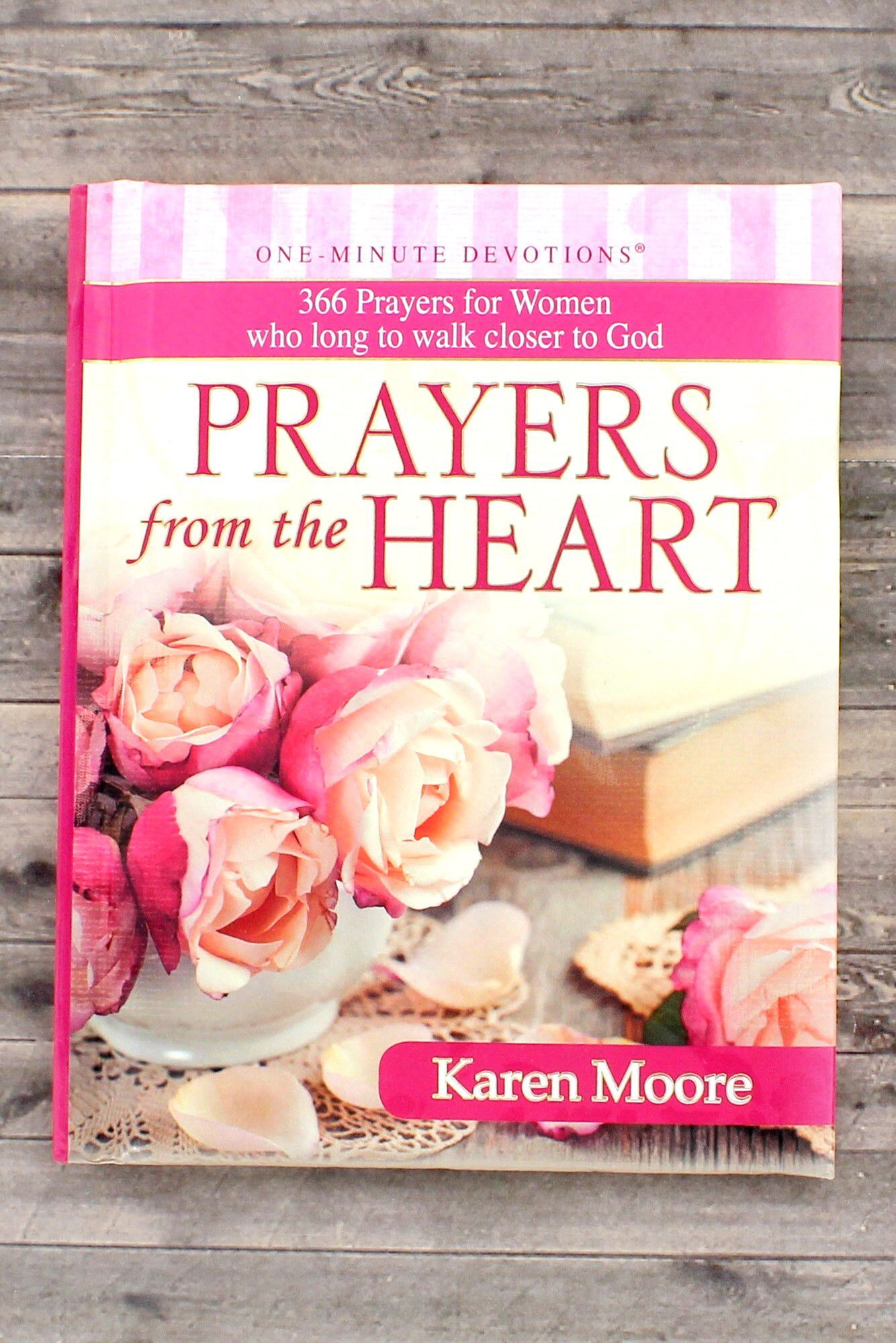 One-Minute Devotions - Prayers from the Heart by Karen Moore #OM050