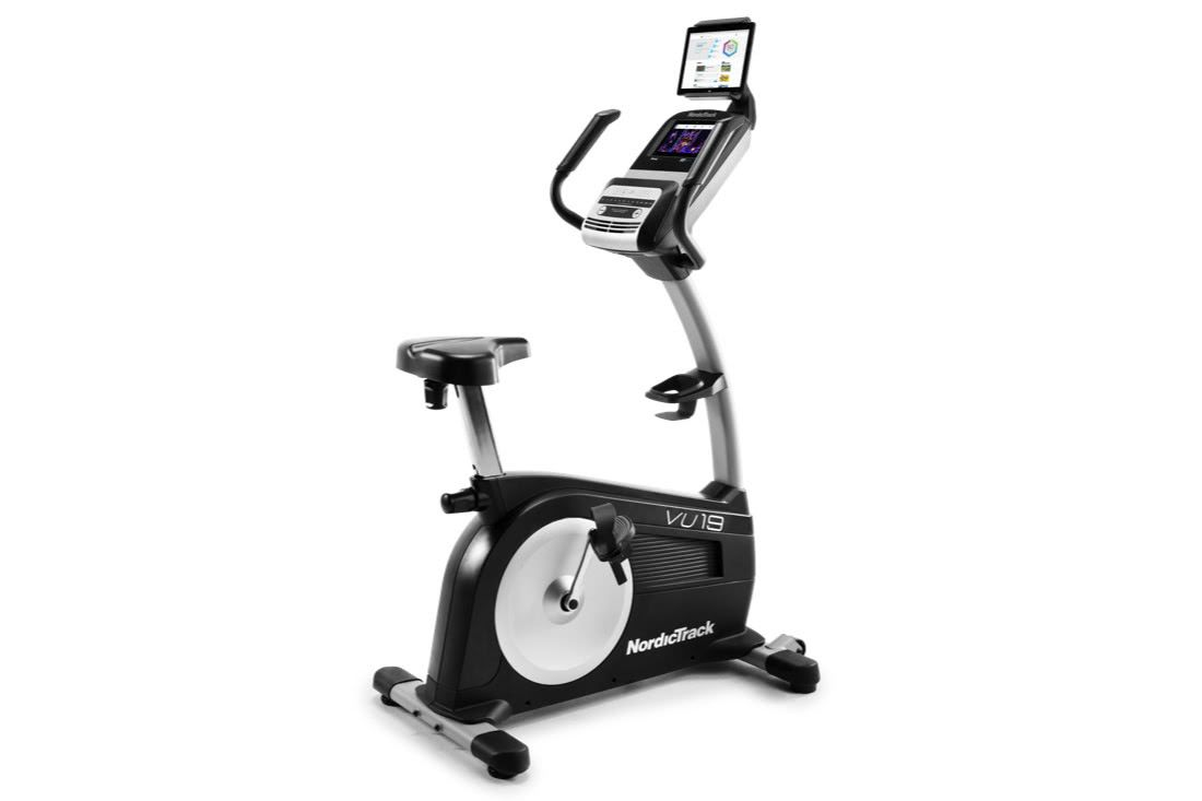 Nordictrack Commercial Vu 19 Gallery Image 1 Biking Workout Bike Exercise Bikes