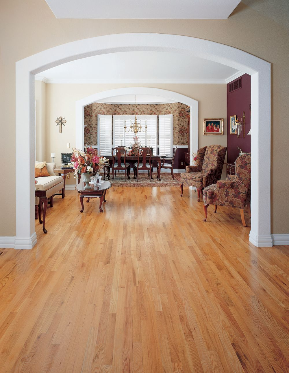 The Homeowner Of This Residence Wanted Floors To Have A Higher Gloss Earance Than Usual
