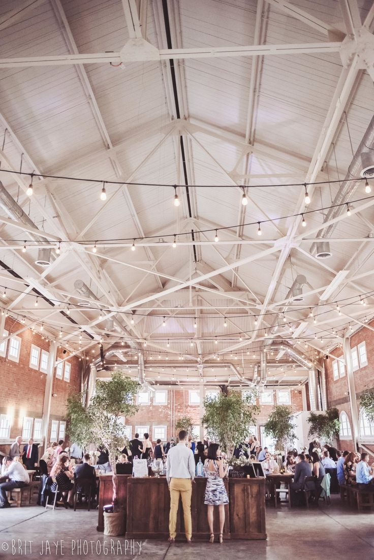 Fun Spring Wedding at The North Chapel + BRICK — Ohio