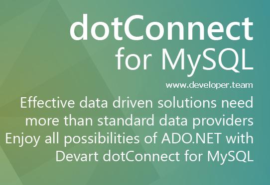 Devart dotConnect for MySQL 8.12.1307 Professional (With