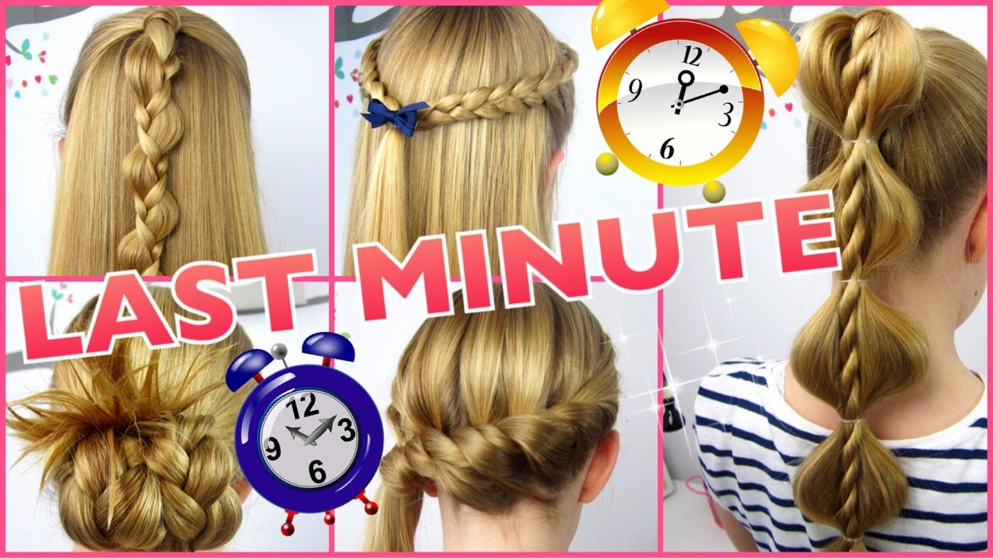 5 X 3 Minuten Frisuren Last Minute Coole Frisuren Auf Die Schnelle Hair Styles Easy Everyday Hairstyles Easy Hairstyles