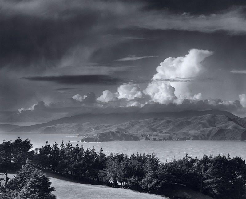 ansel adams images | Ansel Adams, Golden Gate Headlands , 1950 Ansel Adam⌛️⏱⏰⏲⏰More At FOSTERGINGER @ Pinterest🕰⏰⏲⏱⏳