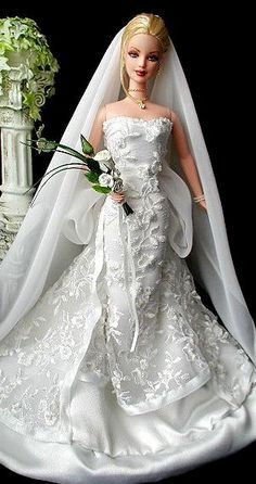 fashion doll bride wedding - Google Search