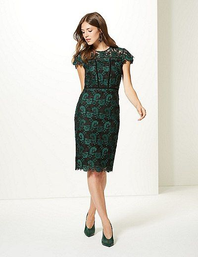 Marks and spencer bodycon dresses and sleeves