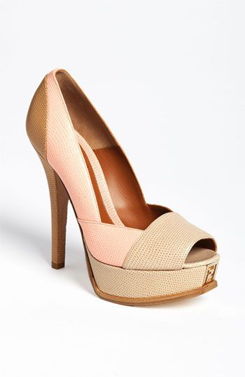Fendi 'Fendista' Pump available at Nordstrom ah maybe one day