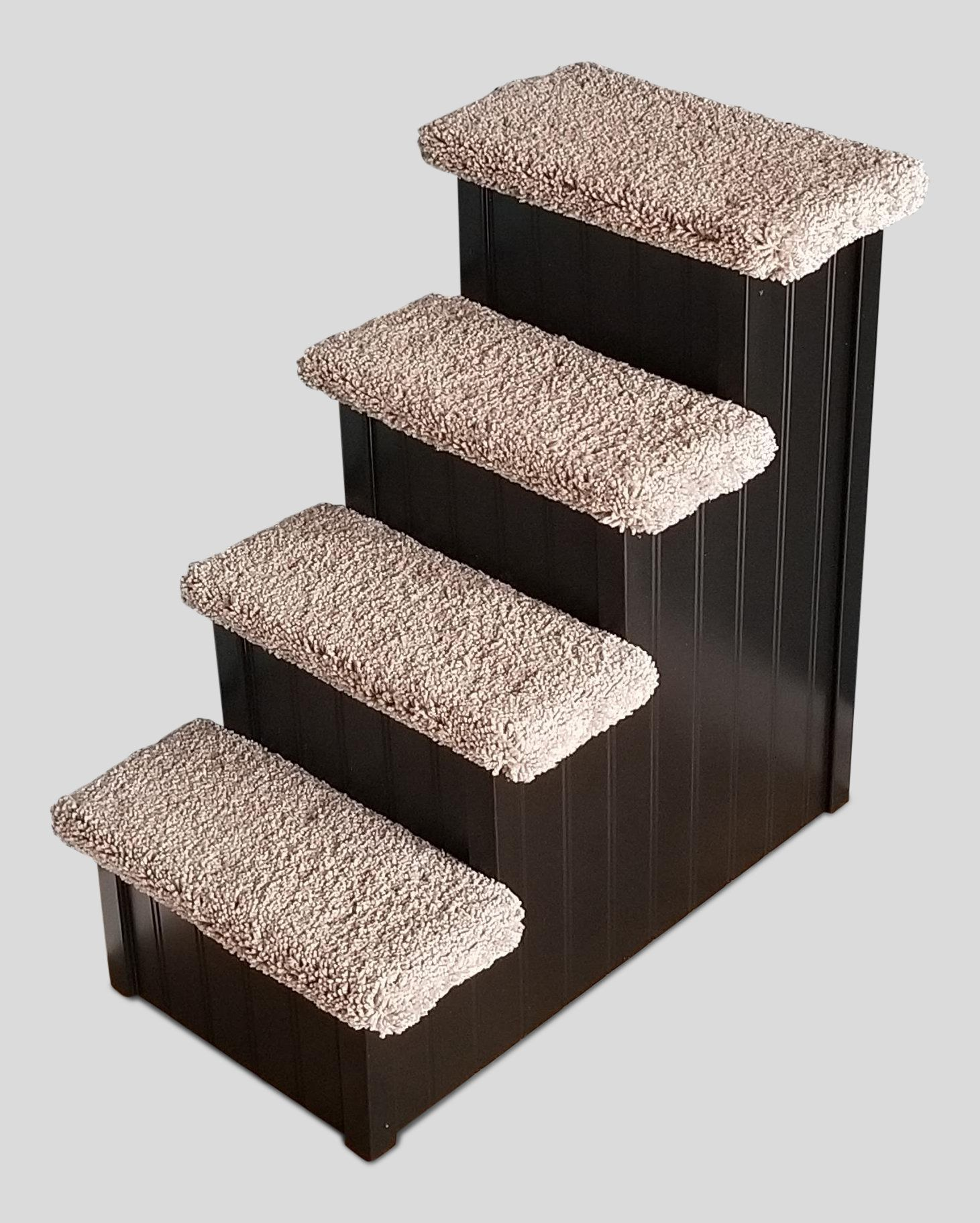 """Dog Stairs for High Beds For Small Dogs 530 Lbs 24""""H"""