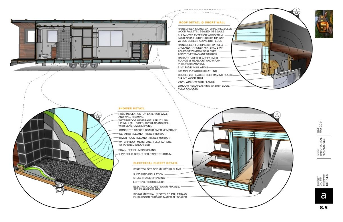 Tiny house floor plans print and cut worksheets further room design - Tiny House Big Movement Sketchup Blog