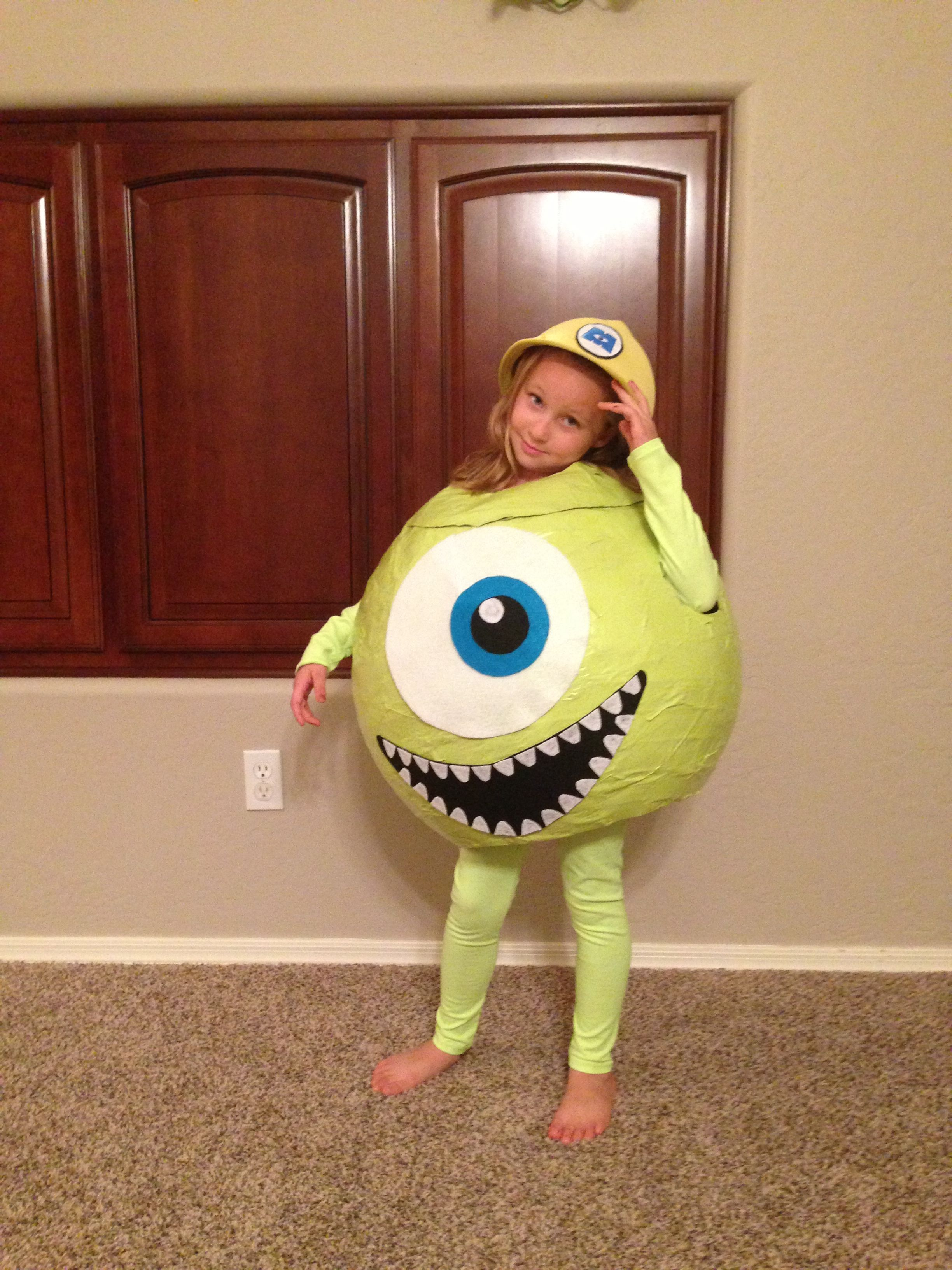 mike wazowski costume. monsters inc. | halloween in 2018 | pinterest