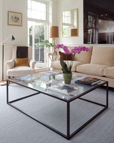 Bespoke Glass Coffee Tables: Home : ALEXANDRA ROBINSON Bespoke Metal Furniture