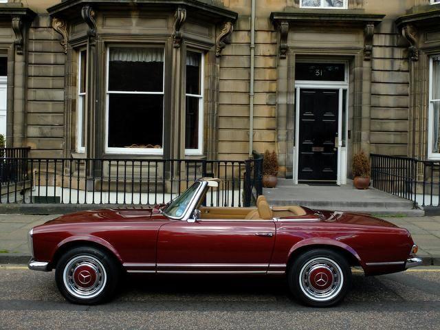 Used Mercedes Benz 280 Convertible In Edinburgh City Of Derek C Mowat