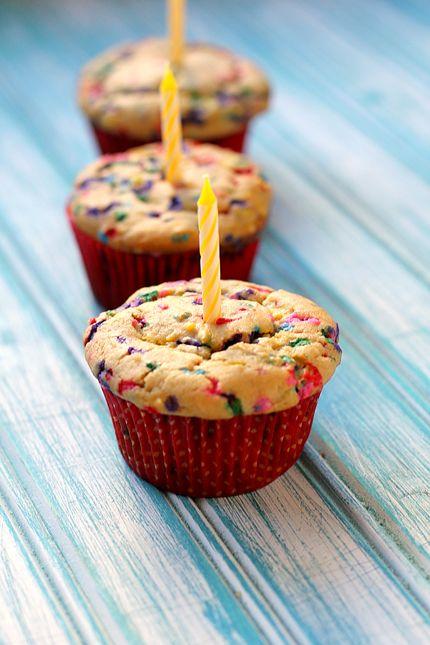 Birthday Cake Muffins Desserts
