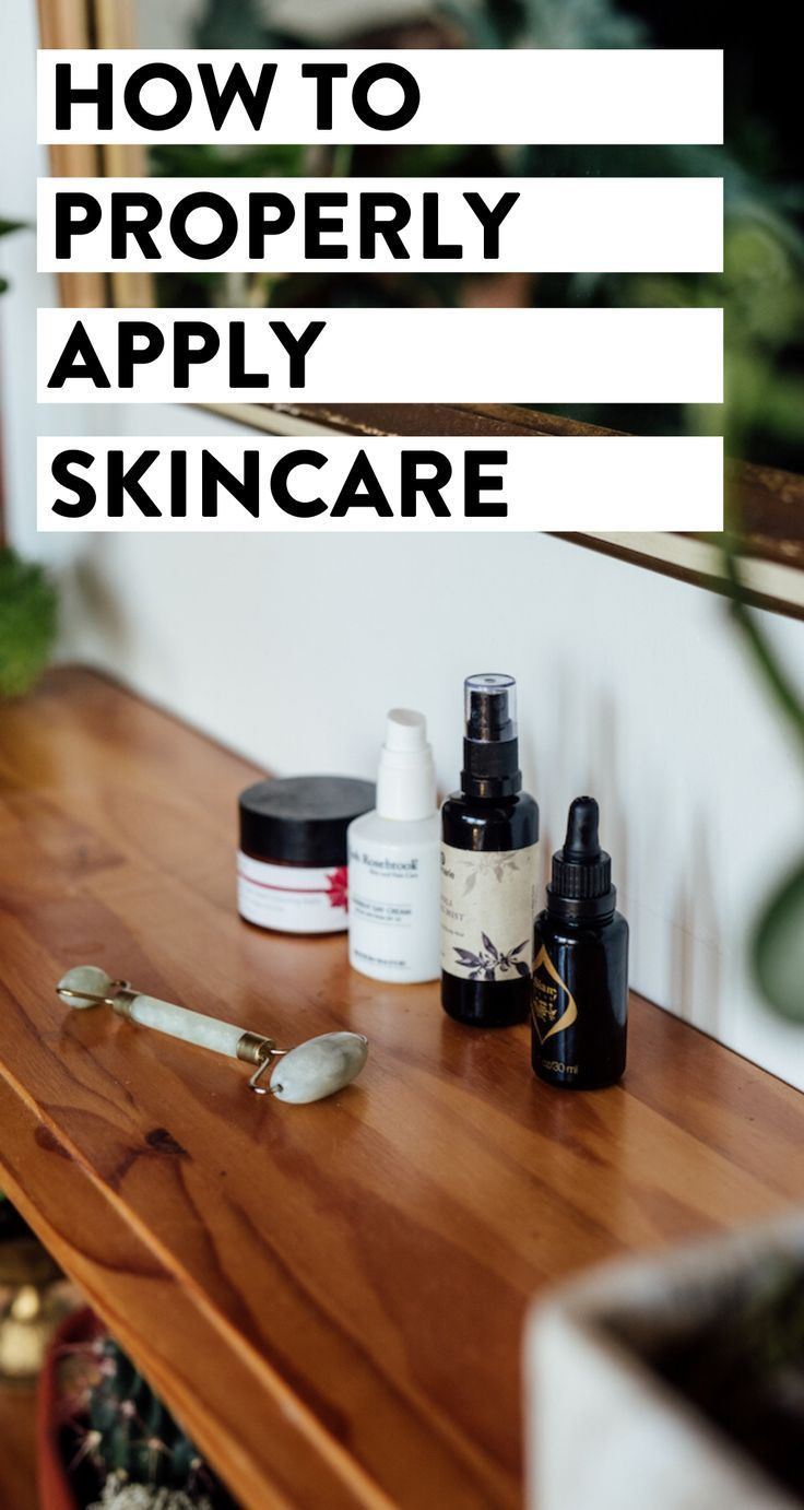 Wondering the right order to apply your skincare? We're