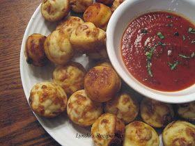 Lynda's Recipe Box: Pepperoni Pizza Puffs