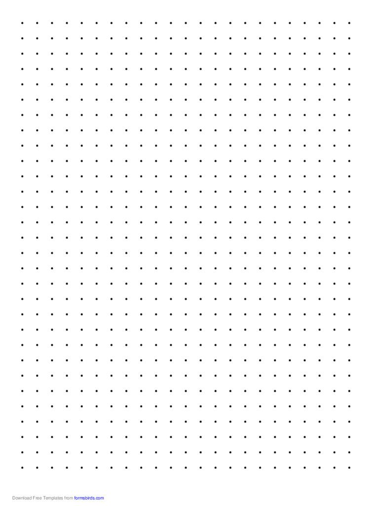 Dot Paper 36 Free Templates In PDF Word ... | Bullet Journals ...