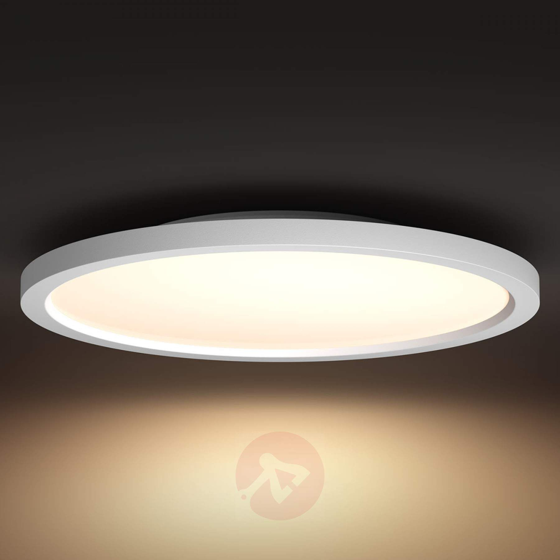 Philips Hue White Ambiance Aurelle Led Panel Rund In 2020 Led Panel Rund Led Panel Led