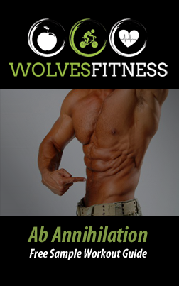 free sample ab annihilation  perfect abs workout guide abs