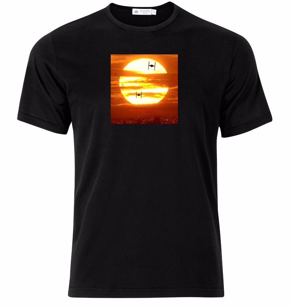 Star Wars Darth Vader Lightsaber Tie Fighter T-Shirt Nwt