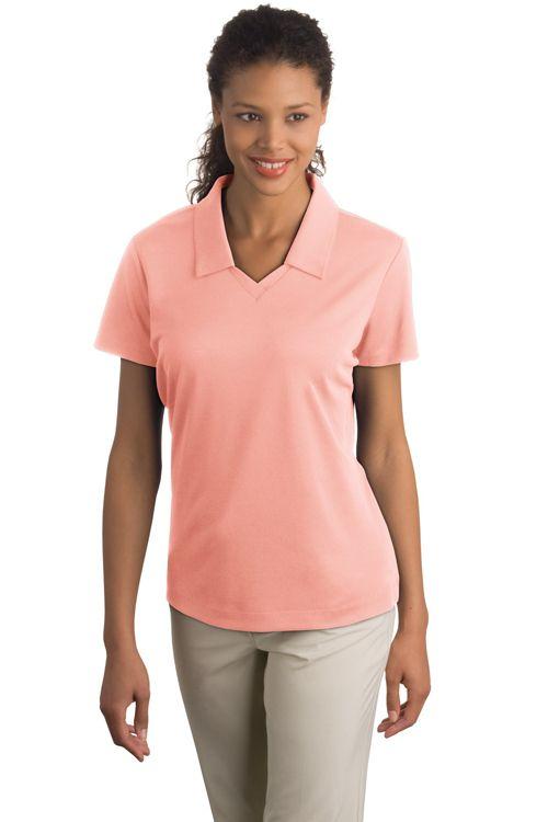 True To Size Apparel Ladies Dri Fit Micro Pique Polo Johnny Collar 30 58 Http Truetosizeapparel Com Ladies Polo Shirt Women Pique Shirt Sports Shirts