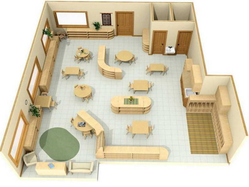 Classroom Design Models ~ Picture of preschool room layout with d design my