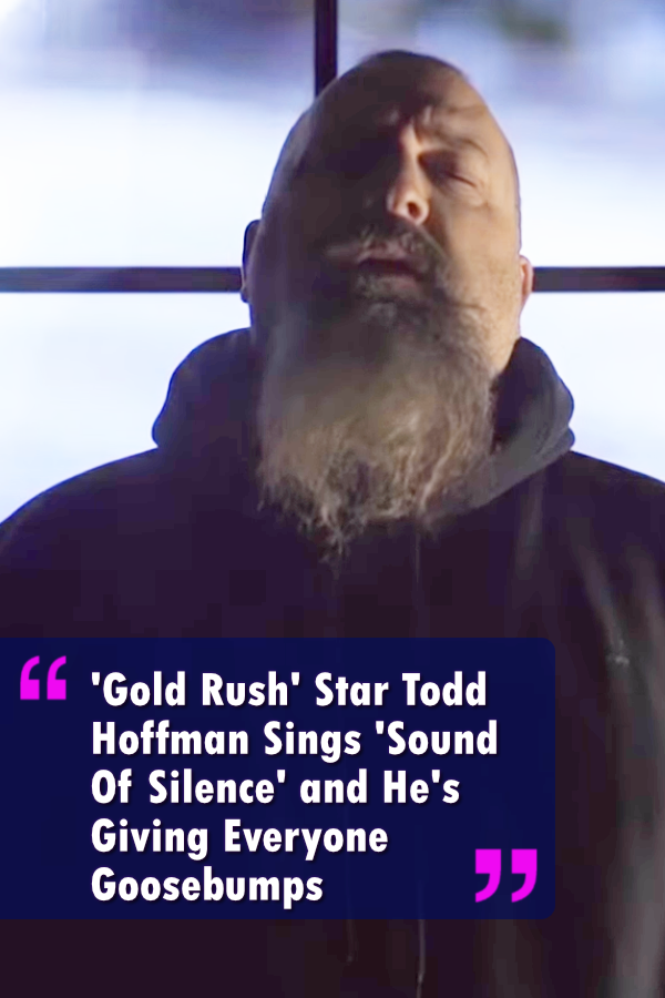 You probably recognize Todd for his Discovery Channel Show Gold Rush. His long beard is a signature give away. But beneath the rough and tough exterior rests a gentle soul. #music #entertainment #video #talent