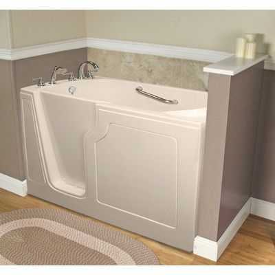 A Walk In Tubs Dignity 48 X 28 Whirlpool Jetted Walk In Bathtub