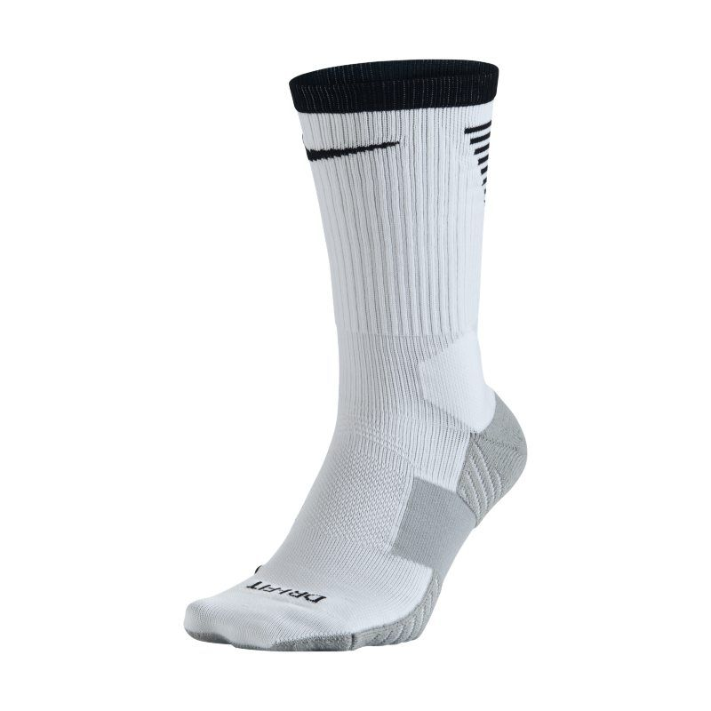 1a1e6bb79d6e Nike Dry Squad Crew Football Socks - White
