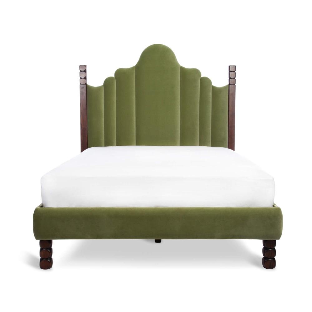 Luca Bedstead, Green Velvet, Super King Soho Home in