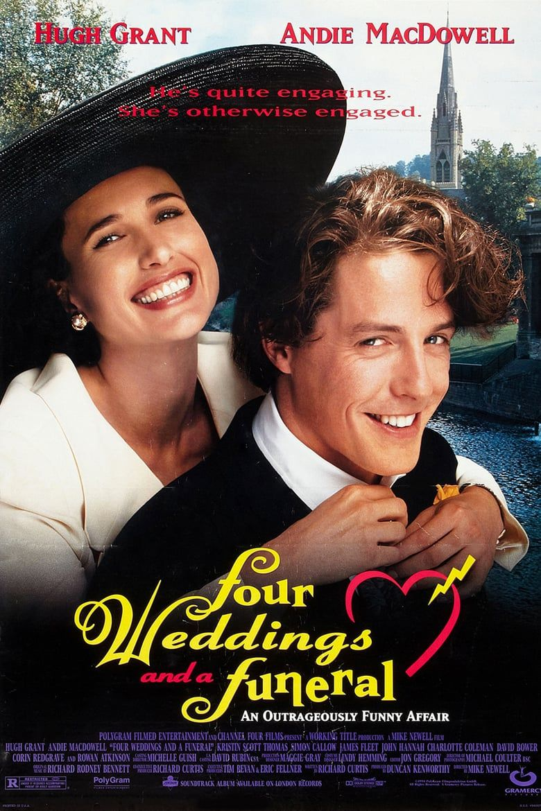 Four Weddings And A Funeral Full Movie On Youtube