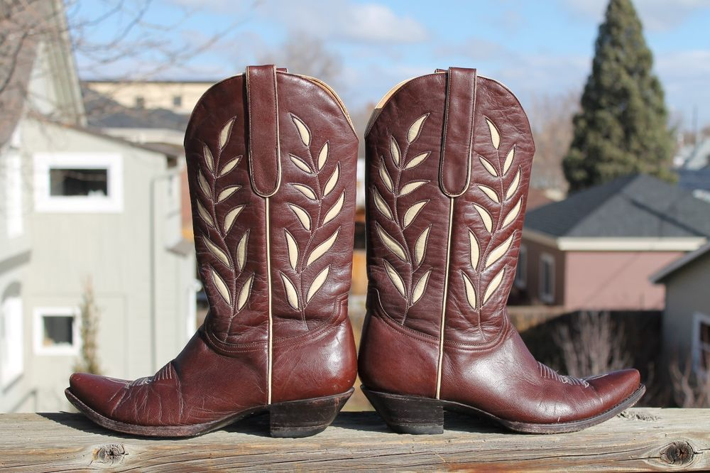 Women's Old Gringo Vintage Fancy Leather Cowboy Western Boots 9 B MEXICO #OldGringo #CowboyWestern