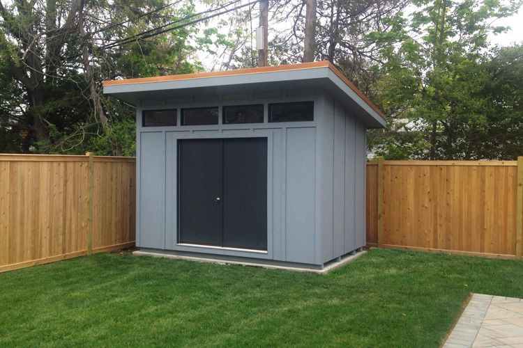 Sheds unlimited llc modern sheds and studios from the for Prefab garden buildings